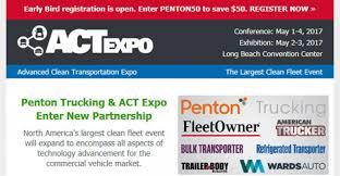 ACT Expo, Penton Trucking Launch Partnership | Bulk Transporter