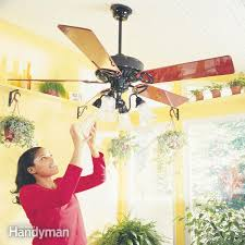 Wobbly Ceiling Fan Box by How To Install Ceiling Fans U2014 The Family Handyman