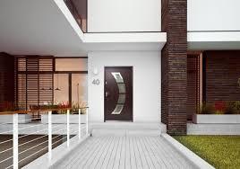 100 Miami Modern Steel Exterior Door With Glass Home