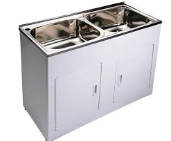 Stainless Steel Utility Sink by Stainless Steel Laundry Sink Cabinet U2014 Jburgh Homes Best Laundry