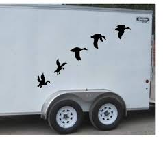 100 Hunting Travel Trailers Amazoncom Duck Call Flying Ducks Trailer Decals