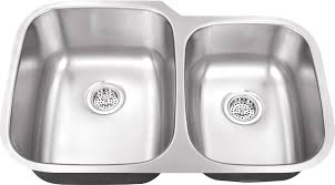 18 Inch Pedestal Sink by Www Iptsink Com M 108 18 Gauge Double Bowl Undermount Stainless