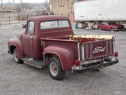 100 1956 Ford Pickup Truck F100 Solid Project Motor Runs Clean Title