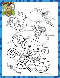 World Cup Coloring Page