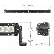 50 inch 250w led light bar spot flood combo 21 400