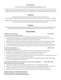 Internship Resume Sample Malaysia Advertising Free Letter Templates Online A Professional Template For Marketing Intern Want It Download N