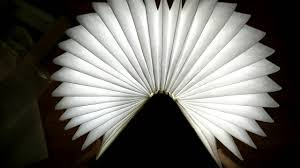 Lumio Book Lamp Shark Tank by Excelvan Wooden Folding Led Nightlight Booklight Youtube