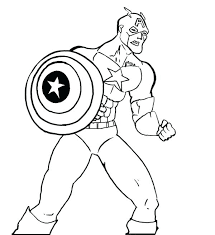 Captain America Printable Coloring Pages Glamorous Fee Kids Lego Civil