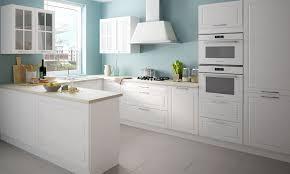 u form küchenzeile pescara küchenblock 335x233x170cm weiß front verkehrsweiß matt lackiert