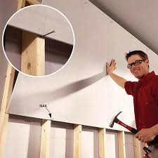 hanging drywall on ceiling tips tips for easier diy when you work by yourself hanging drywall