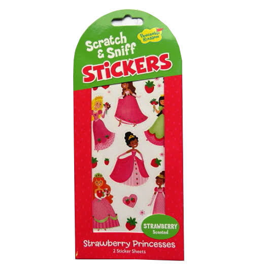 Scratch and Sniff Stickers Strawberry Princesses - Strawberry Scented
