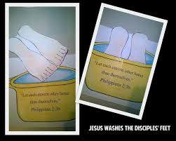 Jesus Washes The Disciples Feet Craft