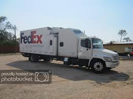 100 Expediter Trucks FedEx CC Straight Truck