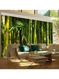 artgeist fototapete asiatischer bambuswald klingel