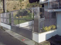 Stainless Steel Gate Design Modern   Modern Design Ideas Gate Designs For Home 2017 Model Trends Main Entrance Design 19 Best Fencing Images On Pinterest Architecture Garden And Latest Best Ideas Emejing Contemporary Homes Interior Modern Decoration Steel Marvelous Malaysia Iron Gates Works Of And Pipe Supply Install New Hdb With Samsung Yale Tags Wrought Iron Entry Gates Residential With Price Stainless Photos Drawings Manufacturers In Delhi Fachada Portas House Cool Front Collection Models