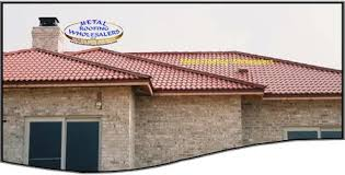 mexican simulated clay tile metal roofing