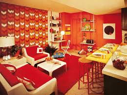 Above 1970s Decor Features As Many Shag Rugs Possible