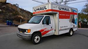 U-Haul Rentals Moving Trucks, Pickups And Cargo Vans Review Video ... Uhaul Truck Rental Reviews The Evolution Of Trailers My Storymy Story How To Choose The Right Size Moving Insider Business Spotlight Company Moves Residents From Old Homemade Rv Converted Garage Doors Marietta Ga Box Roll Up Door Trucks U Haul Stock Photos Images Alamy About Uhaultipsfordoityouelfmovers Dealer Hobart Lumber Celebrates 100 Years