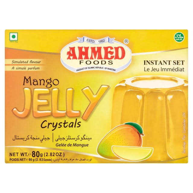 Ahmed Foods Mango Jelly Crystals - 80g