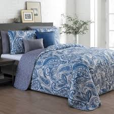 Buy Blue Paisley Bedding from Bed Bath & Beyond