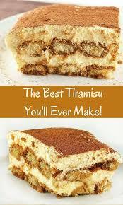 cuisine dessert the best tiramisu recipe you will classically prepared