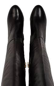 leather knee high boots karen millen