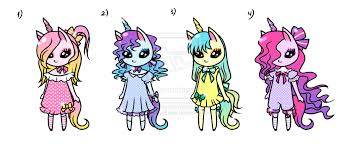 Cute Unicorns Girls Adoptables 1280x526