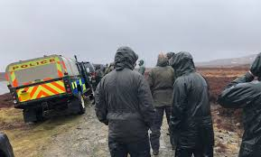 100 Gamekeepers Join Search For Missing Sea Eagle In Perthshire The