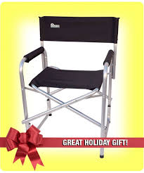 Professional Tall Folding Directors Chair by Chairs
