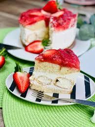 erdbeer windbeutel torte rezept