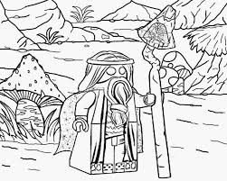 Witch Vitruvius Lego Movie Coloring Pages