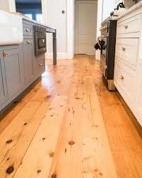 Reclaimed White Pine Floors