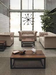 Interior Design Furniture Modern Industrial Rustic Living Room