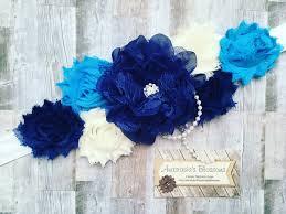 blue maternity sash royal blue maternity sash maternity