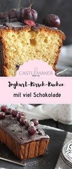 joghurt kirsch kuchen aus der kastenform mit knackigem