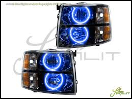 Oracle 07-13 Chevrolet Silverado LED ColorSHIFT Halo Rings ... 881998 Chevy Truck 8piece Black Halo Headlights Set Wxenon Bulbs Billet Front End Dress Up Kit With 7 Single Round 1973 Lumen Ck Pickup 1964 Projector Led Dna Motoring For 0306 Silveradoavalanche 4pc Headlight 5 Inch 1958 Wiring Diagrams Schematics 03 04 05 06 Silverado 1500 Tail Lights Parking Light 9499 Suburban Blazer Headlamps Light Blue Trucks Elegant Chevrolet Colorado Crew Cab Photo 9902 1 Piece Grille Cversion Dash In 2017 Are Awesome The Drive 072014 Tahoe Avalanche Tron Style Neon Tube