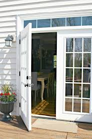 French Patio Doors Outswing by The Doors From The Outside From Thrifty Decor