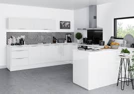credence cuisine noir et blanc stunning cuisine noir et blanc pictures design trends 2017