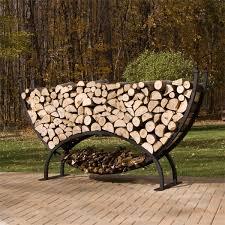 Woodhaven 8 Crescent Firewood Rack