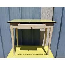 table de cuisine vintage table de cuisine vintage en bois formica jaune le palais des