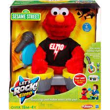 Walmart Elmo Adventure Potty Chair by Sesame Street Playskool Let U0027s Rock Elmo Walmart Com