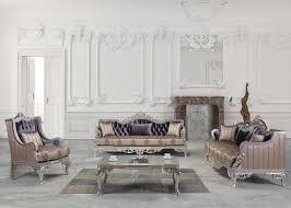 casa padrino luxus barock wohnzimmer set lila beige silber gold 2 sofas 2 sessel 1 couchtisch wohnzimmer möbel im barockstil edel