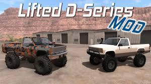 100 Truck Mods BeamNGdrive Lifted DSeries Mod Mega OffRoading