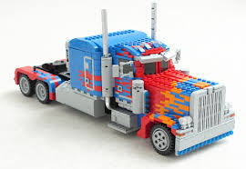 This Transforming Optimus Prime LEGO Build Might Be One Of The Most ...