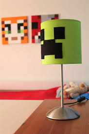 Minecraft Bedroom Decor Ideas by Childrens Bedroom Table Lamps With Kids Toy Guide Room Decor Ideas