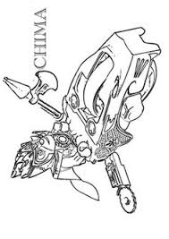 Lego Chima Coloring Pages 4