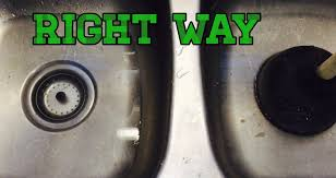 Drano Wont Unclog Kitchen Sink by How To Unclog A Kitchen Sink Try This Life Hack First Youtube