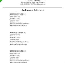 Character Reference Resume Example Philippines References In
