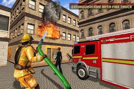 100 Fire Truck Game Real Fighter Rescue Driver Free Rescue S For Android Free