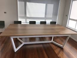 Australian Made Solid Spotted Gum Hardwood Dining Table 12 Seater